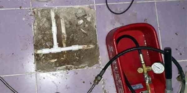 Su kaçağı tespiti Cihazla noktasal su kaçağı bulma